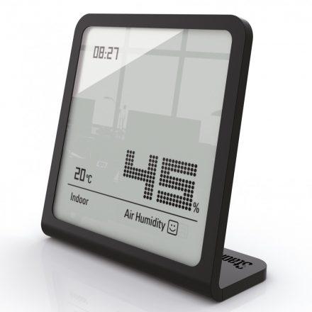 Stadler Form SELINA páratartalom mérő órával (fekete)
